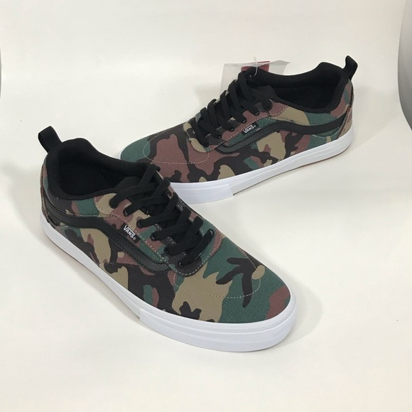 Vans Other - NWT VANS Kyle Walker Pro Camo Black/White
